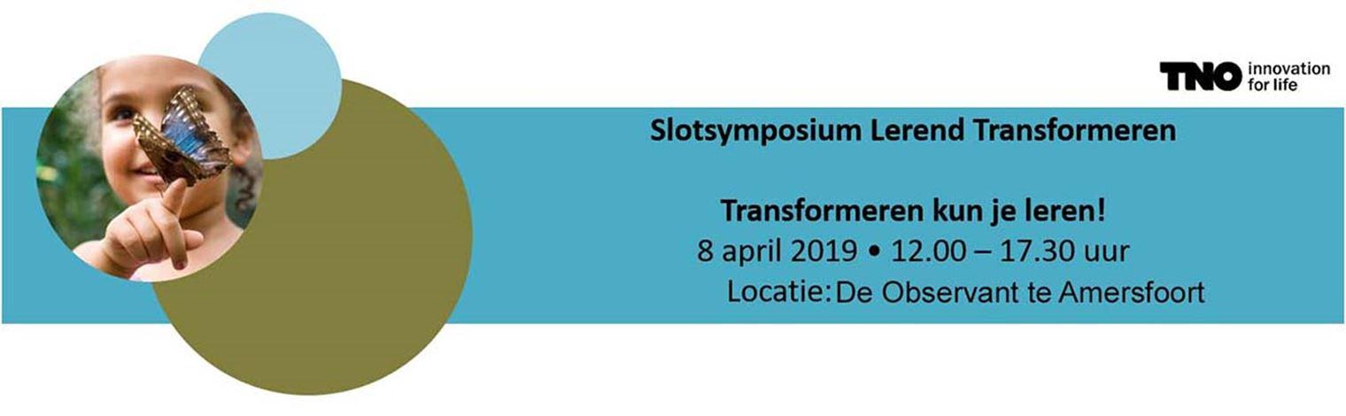 Slotsymposium Transformeren kun je leren