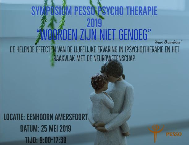 Symposium Pesso Psycho therapie 2019: Woorden zijn niet genoeg