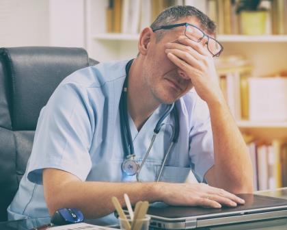 De arts in het nauw