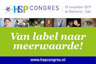 HSP Congres Van Label naar Meerwaarde