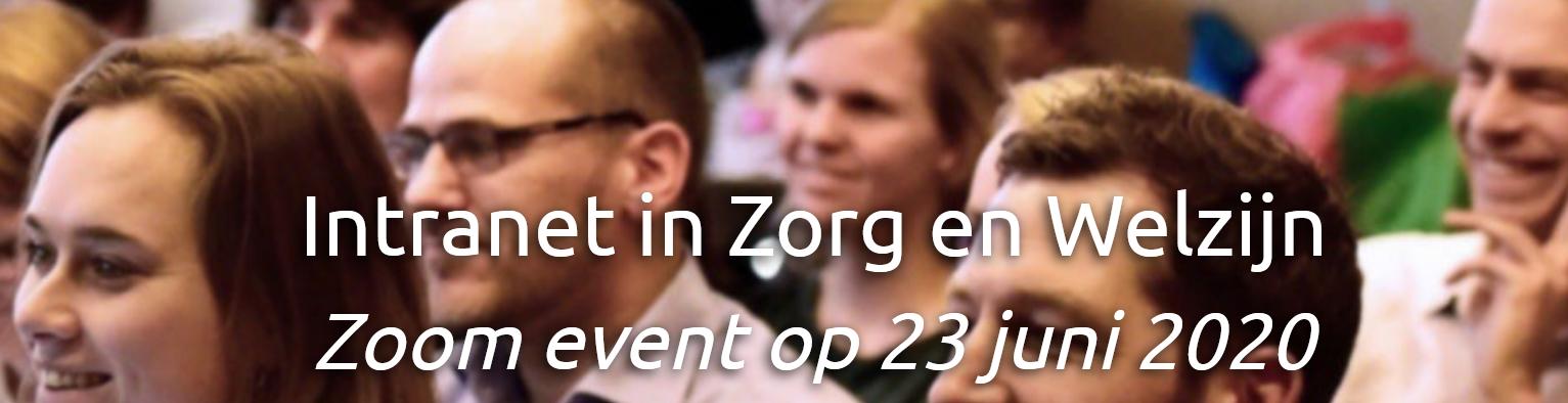 Zoom event Intranet in Zorg en Welzijn