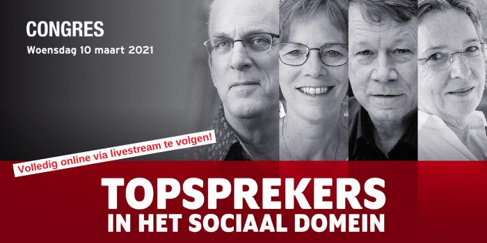 Online congres Topsprekers in het sociaal domein